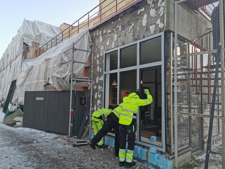 Nõmme kultuurikeskuse ringiruumid saavad jõuluks aknad