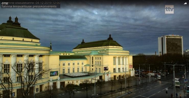 VAATA OTSE KELL 12: Tallinna linnavalitsuse pressikonverents