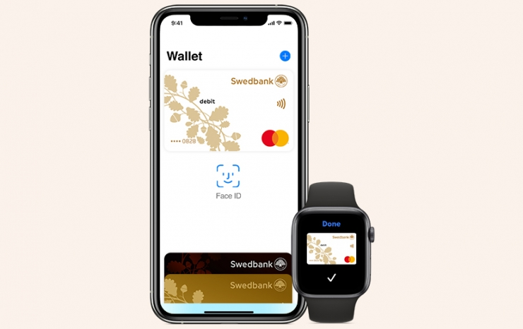 Apple Pay jõudis Swedbanki klientideni