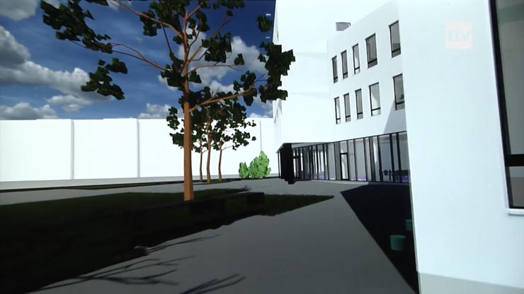 VIDEO! Põhja-Tallinna Linnaosavalitsuse ja Kopli Noortemaja ühishoone valmib suveks 2021