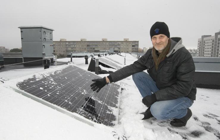 Päikesepaneelid saavutasid kiiresti populaarsuse
