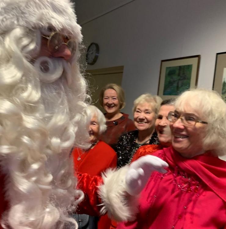 Pirita eakate jõulupidu pakkus üllatusi