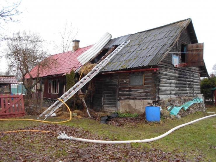 Jõgevamaal leiti suitsu täis majast hukkunud eakas naine