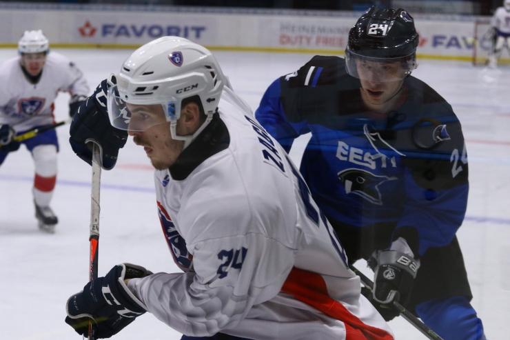 Eesti U20 jäähokikoondis võttis pingelisest mängust Itaaliaga 5:4 võidu