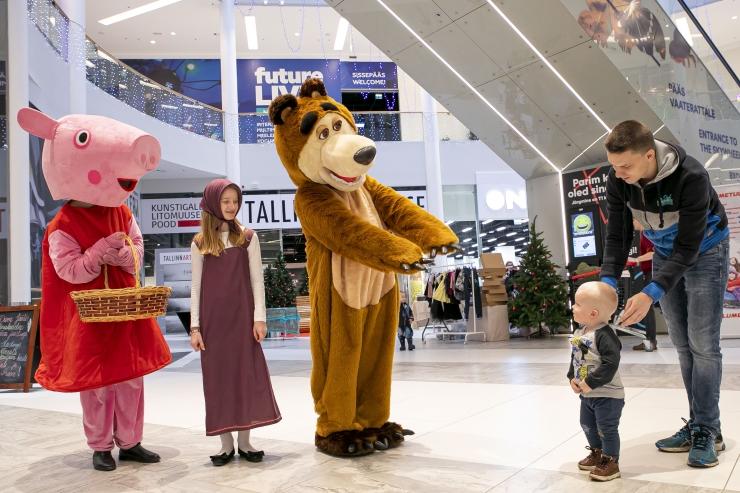 FOTOD! Suur Tallinna Jõululaat on kogupere jõulufestival, mis toob jõulurõõmu südamesse