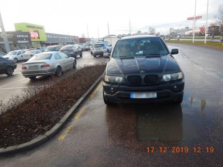 VIDEO! Mupo alustas parkimiskontrolli kaubanduskeskuste juures