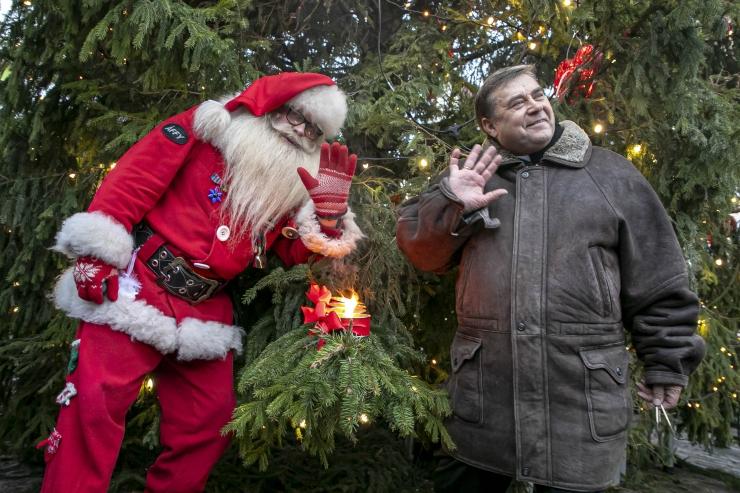 FOTOD! Tallinna jõuluturg tähistas neljandat adventi