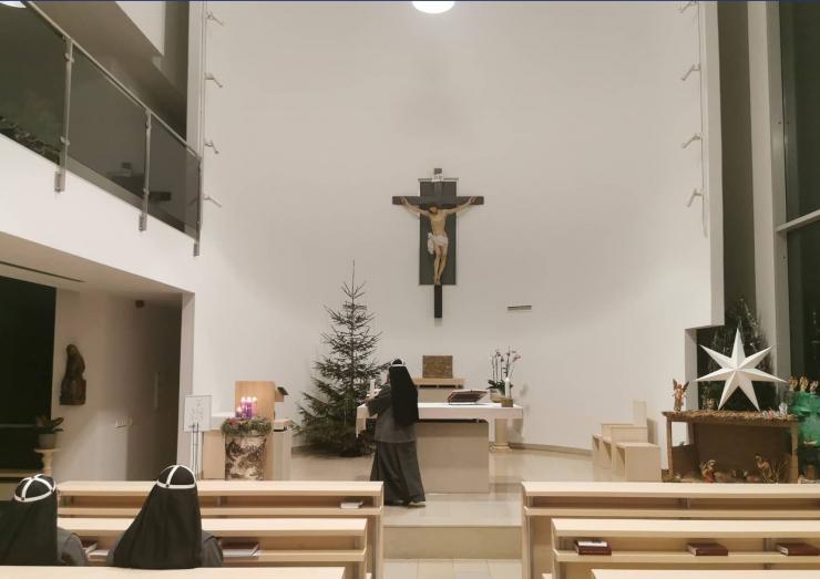 Pirita kinkis kloostrile jõulukuuse