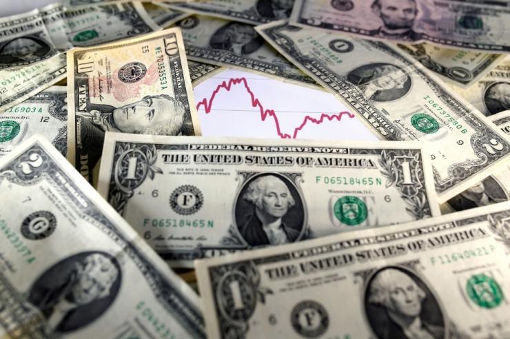 Ühendriikides loopis panka röövinud mees tänaval inimestele raha