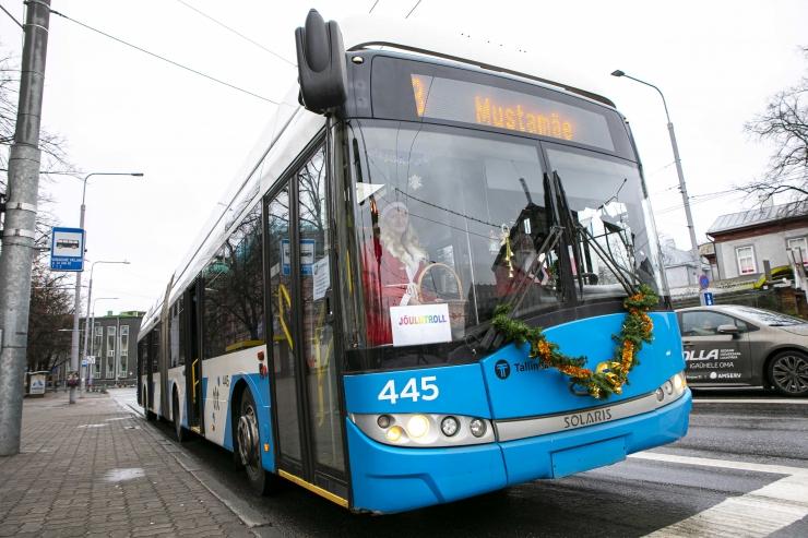 VIDEO! Tallinna linnatransport: peatumiseks vajuta stop-nuppu