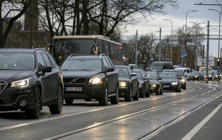 Tallinnas sai raskes liiklusõnnetuses viga kaheksa inimest