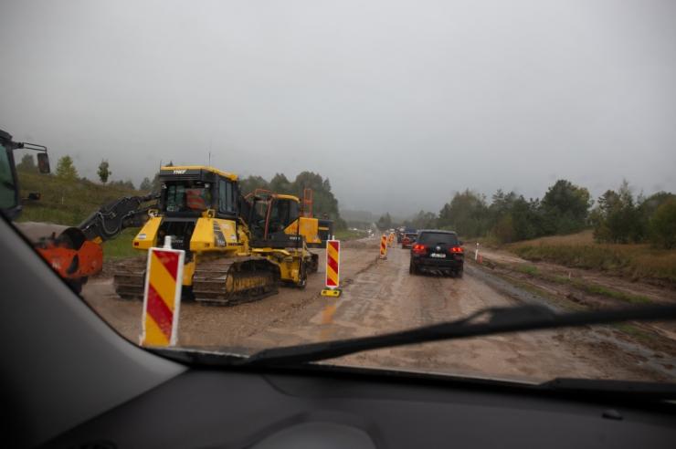 VIDEO! Alustati Tammemäe viadukti lammutustöödega