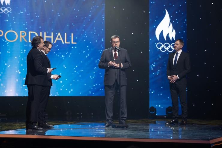 Rahvusvahelise Olümpiakomitee auhinna pälvis Kalevi Spordihall