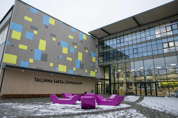 FOTOD JA VIDEO! Tallinna Saksa Gümnaasiumi direktor: valminud on kogu koolipere unistuste koolimaja