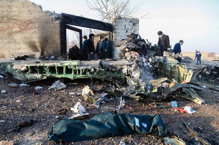 Iraanis kukkus alla Ukraina reisilennuk, surma said kõik 176 inimest