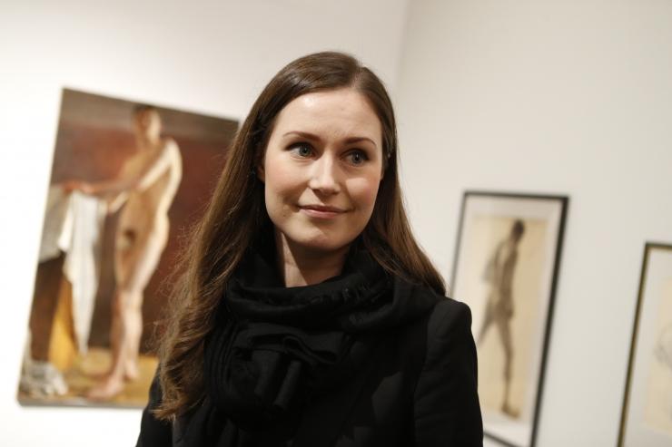 FOTOD! Soome peaminister külastas KUMU kunstimuuseumi