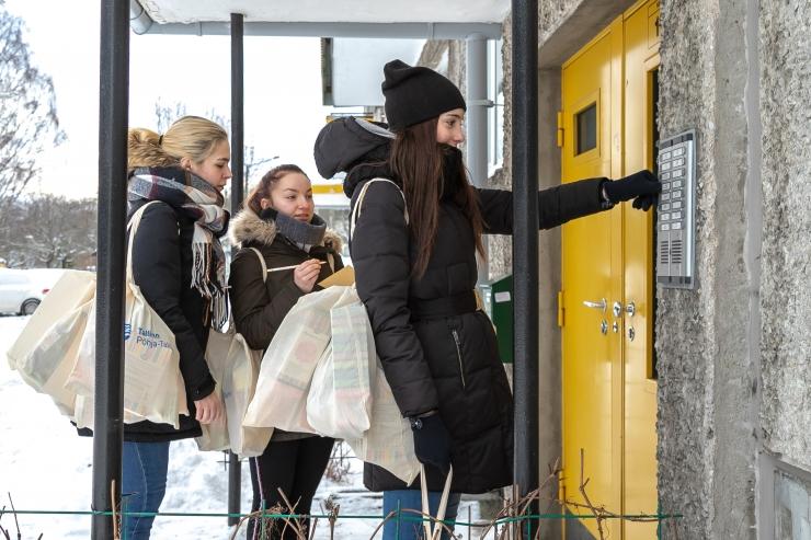 Põhja-Tallinn otsib üksi elavatele eakatele suunatud heategevusprojekti tarbeks vabatahtlikke