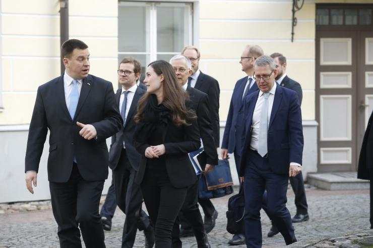 VIDEO JA FOTOD: Eesti ja Soome peaministrid kinnitasid kahe riigi häid suhteid