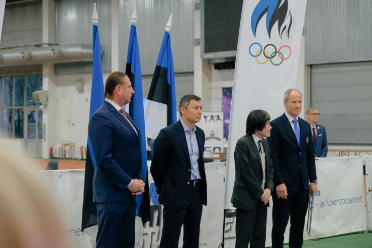 FOTOD! Tallinna linnapea avas Eesti Karate Föderatsiooni meisitrivõistlused