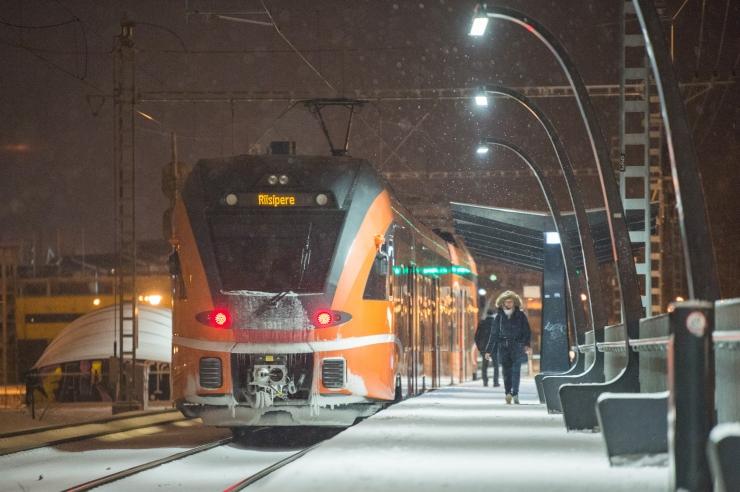 Möödunud aasta tõi Eesti Raudteele rekordilise arvu reisijaid