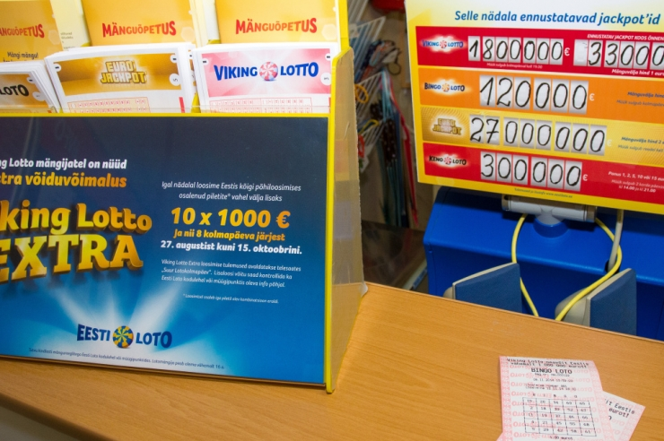Bingo loto loosimisel võideti jackpot üle 570 000 euro