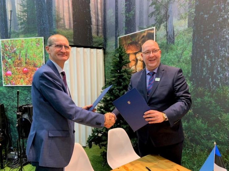 Maaeluminister allkirjastas koostöölepingu Moldova kolleegiga