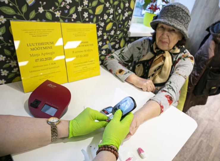 FOTOD! Tallinna apteekides saab mõõta vererõhku