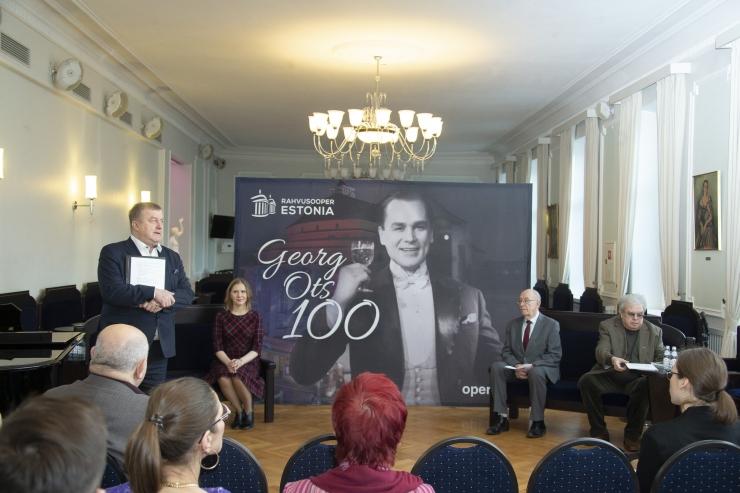 VIDEO JA FOTOD: Rahvusooper Estonia avas Georg Otsa sajandale sünniaastapäevale pühendatud juubeliaasta