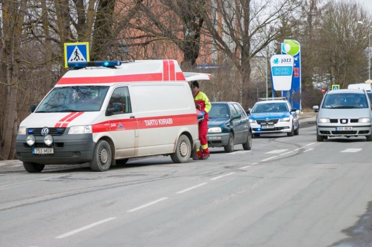 Politsei tuvastas Endla tänaval lapsele otsa sõitnud juhi