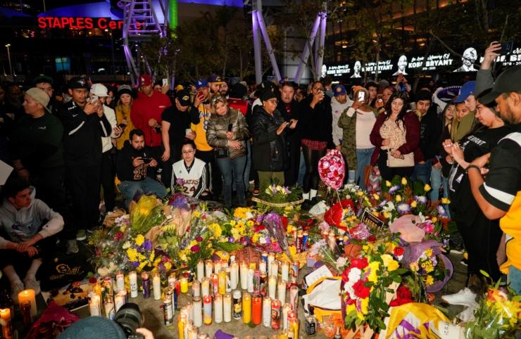 USA endine korvpallitäht Kobe Bryant sai kopteriõnnetuses surma