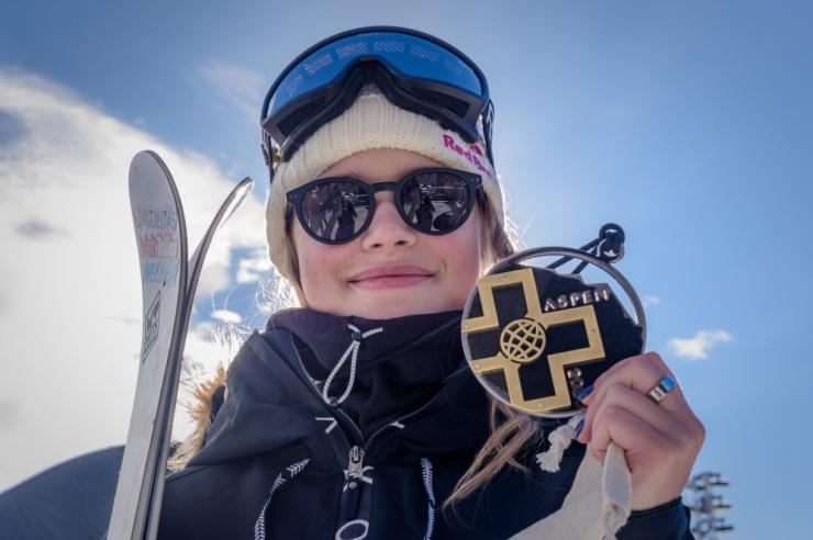 Kelly Sildaru võitis X-mängudel pargisõidus kulla