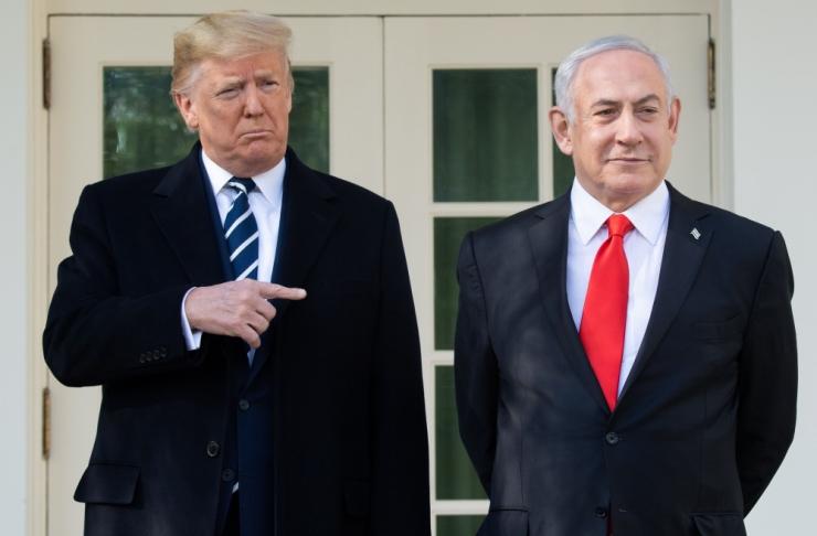 """Trump: minu Iisraeli-Palestiina rahuplaanil """"võib olla võimalus"""""""