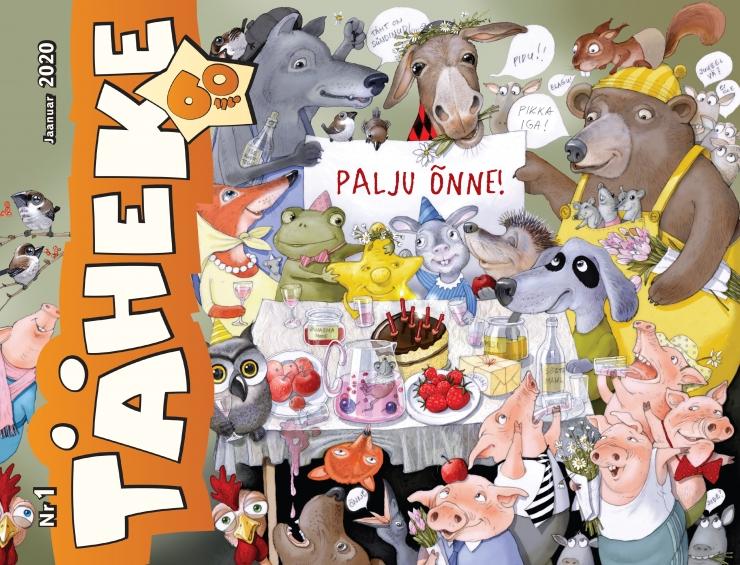 Lasteajakiri Täheke tähistab oma 60. sünnipäeva