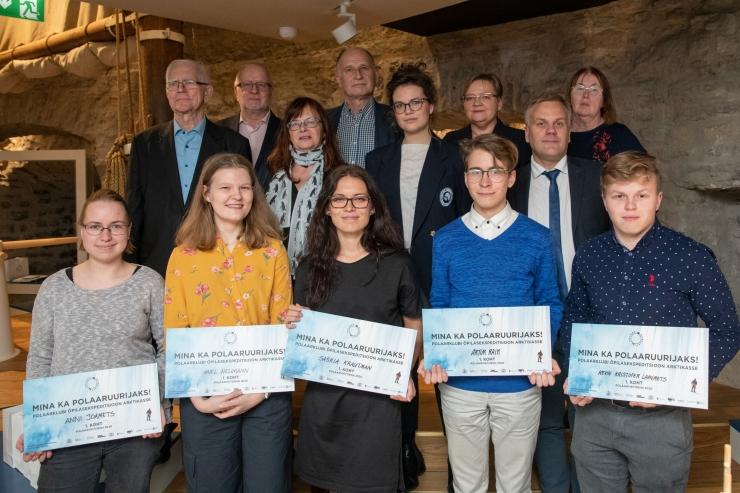 Õpilaste polaarviktoriini võitjad sõidavad Arktikasse