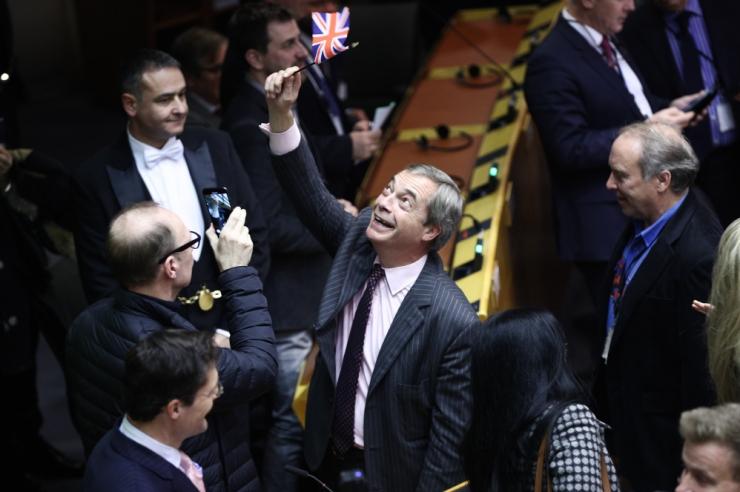 Euroopa Parlament kiitis heaks Brexiti kokkuleppe
