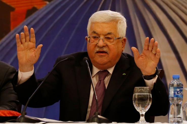 Palestiinlased katkestavad kõik sidemed Iisraeli ja USA-ga