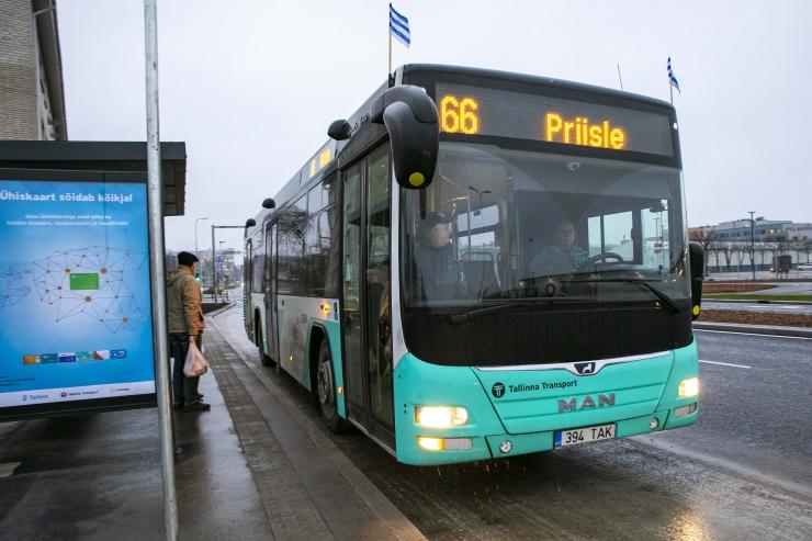 Sõitjate arv Tallinna bussides ületas 100 miljoni piiri