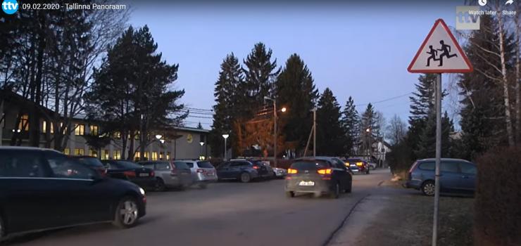 VIDEO! Liikluskampaania Meriväljal: kooli ette ei sõideta!