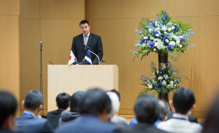 Ratas arutas Kyoto äriseminaril Eesti-Jaapani koostöövõimalusi