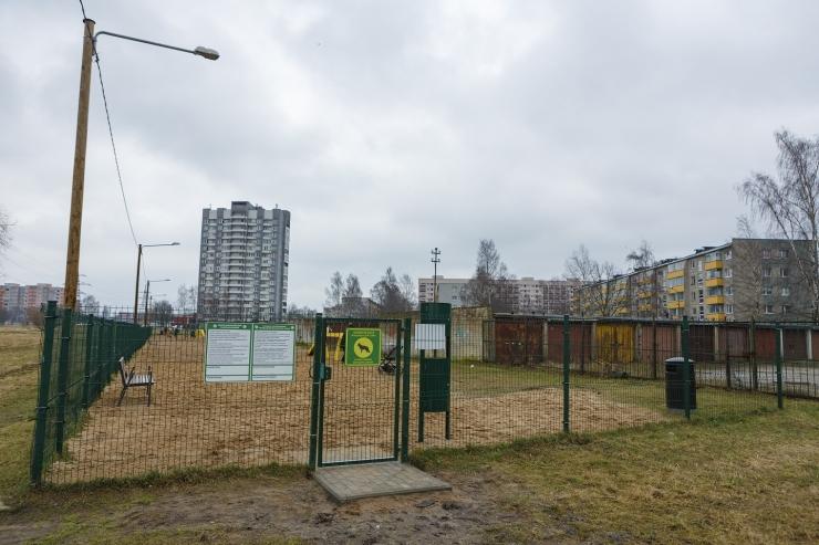 Põhja-Tallinnas avati uuendatud koerte jalutusväljak