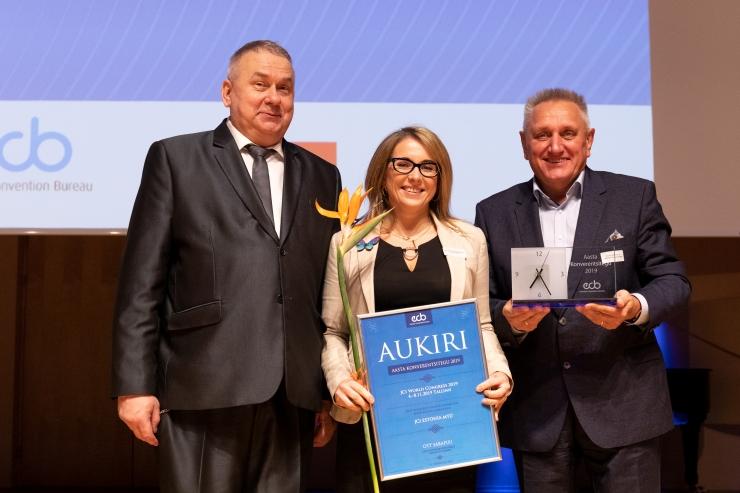 Tallinnas tunnustati aasta parimaid konverentse