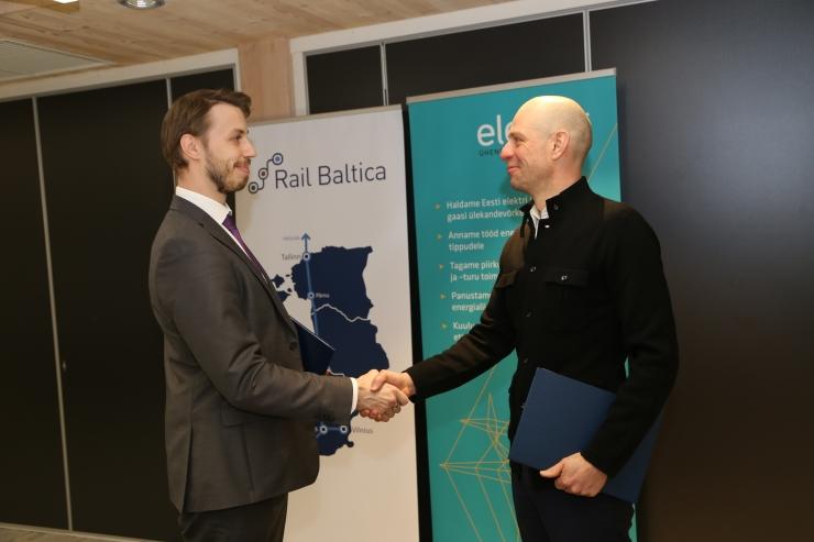 Rail Baltic ja Elering sõlmisid leppe energiataristu ümberehituseks