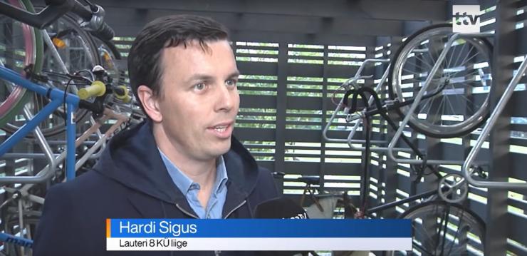 VIDEO! Tallinn aitab ehitada rattaparkimismaju