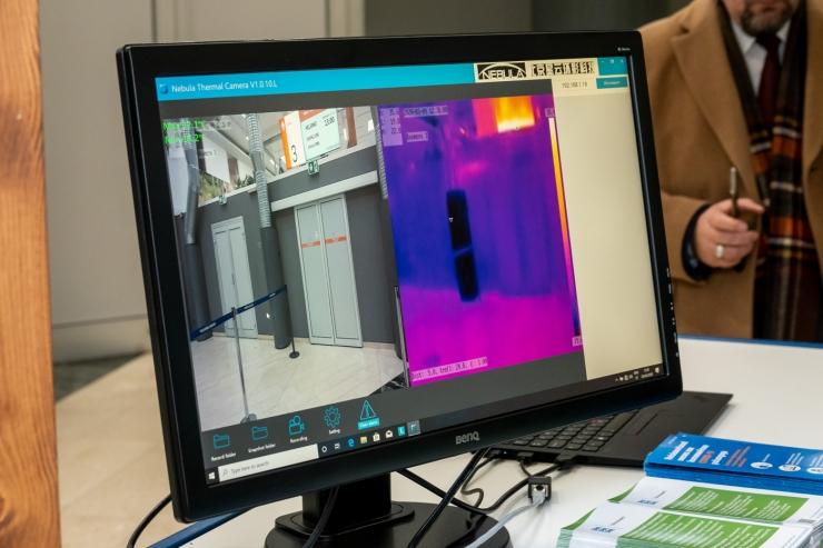 FOTOD JA VIDEO! Tallinna Sadamas testiti termokaameraid