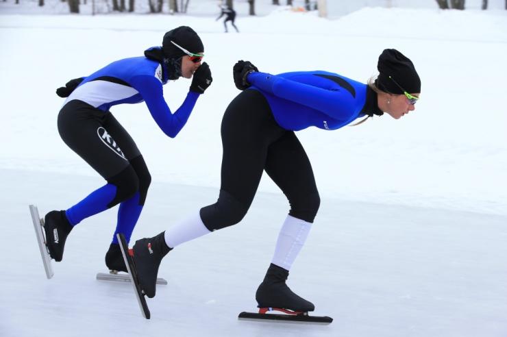 """Härma kiiruisustaadionil toimub kiiruisutamisvõistlus """"Kuldne 1500"""""""