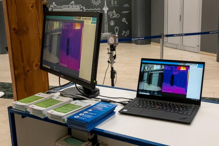 Helme: termokaameraga kontrollitakse ühistranspordis reisijaid piiril