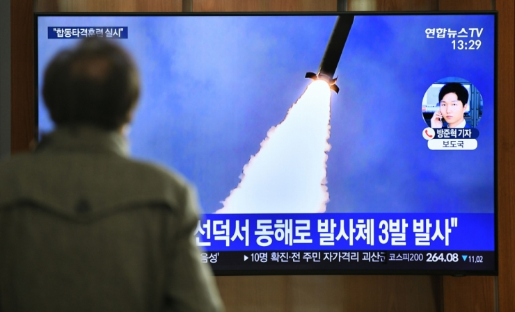 Soul: Põhja-Korea tulistas välja mitmeid laskekehi