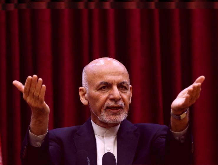 IS võttis omaks rünnaku Afganistani presidendi ametivande ajal