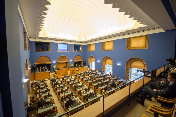 Riigikogu võttis muutmata kujul vastu kohustusliku kogumispensioni reformi seaduse