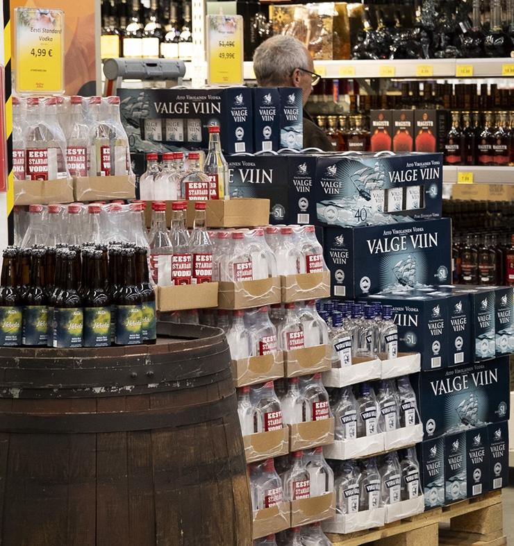 Kas iga nurga peal peab olema alkoholipood?